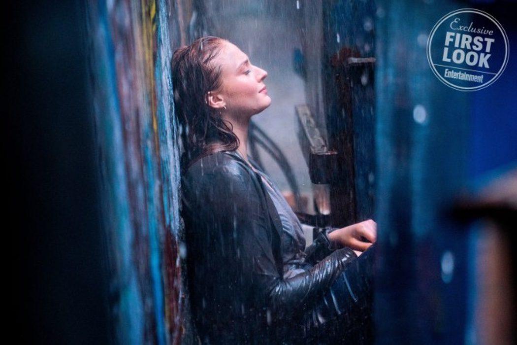 Sophie Tuner como Jean Grey
