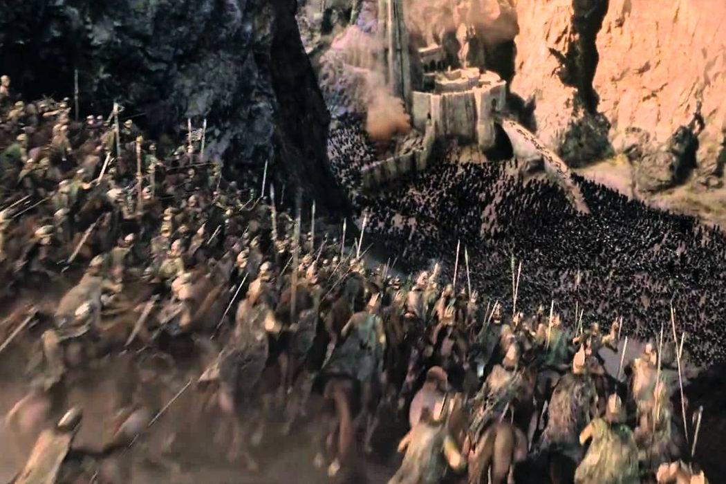 Había muchas mujeres entre los Rohirrim