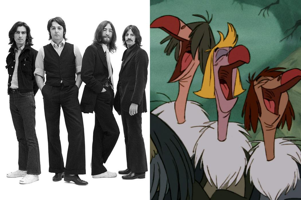 Querían que los Beatles pusieran voz a los buitres