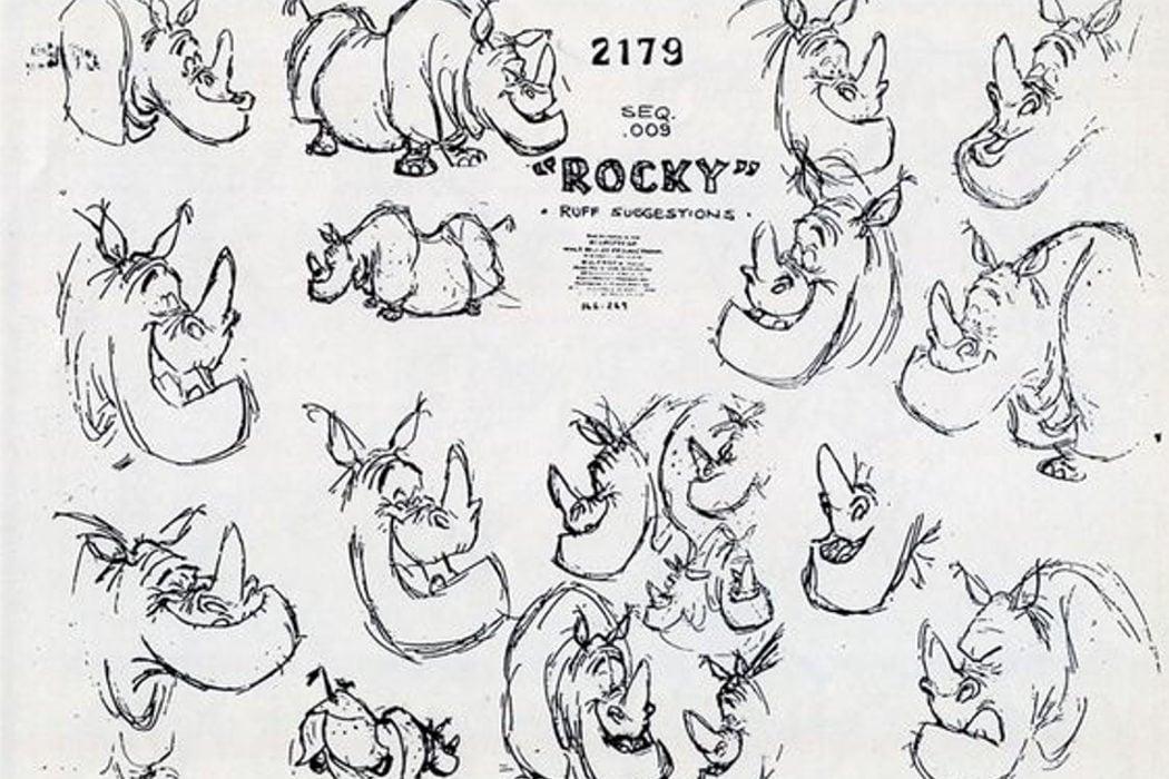 Eliminaron el personaje de Rocky el Rinoceronte