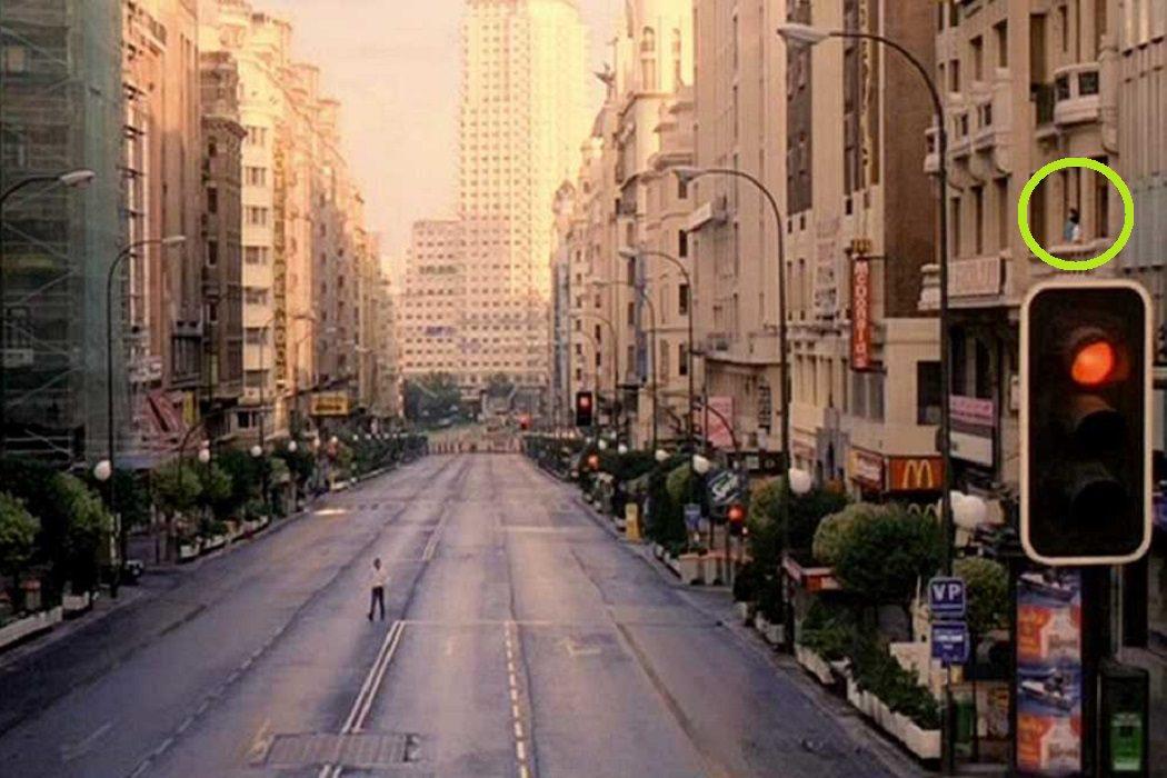 """La Gran Vía """"vacía"""""""