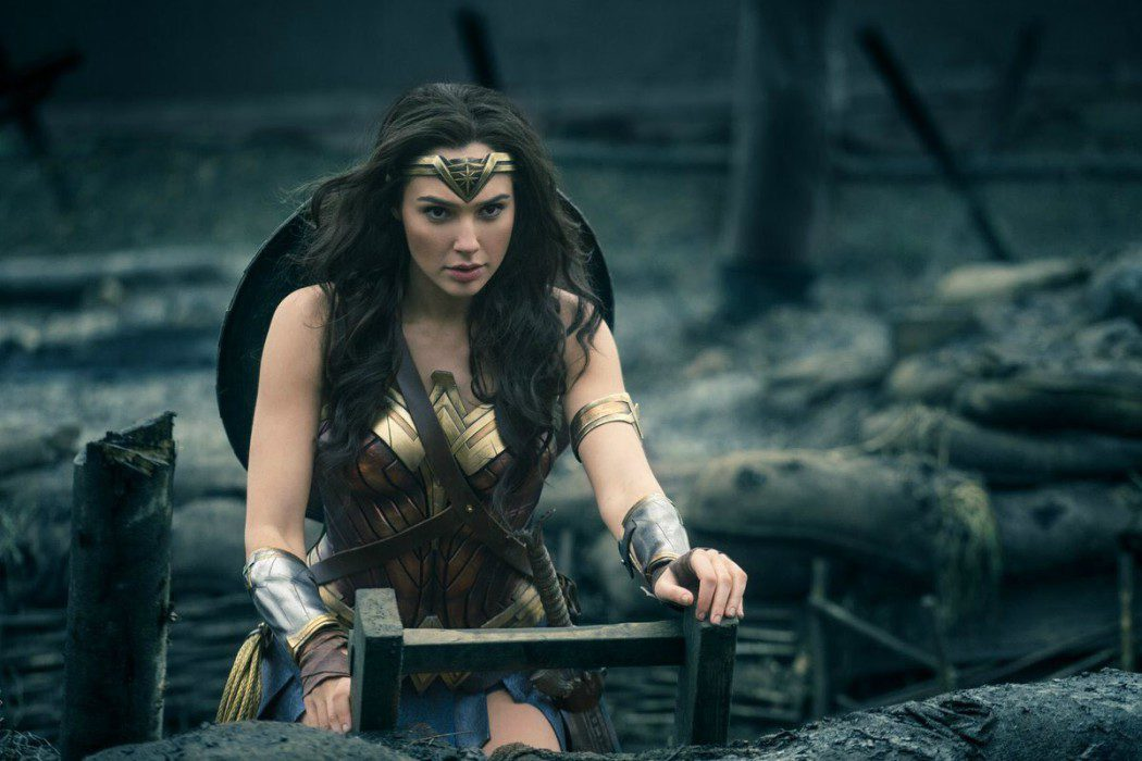 Las trincheras en 'Wonder Woman'