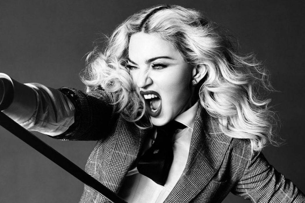 No la toques otra vez, Madonna