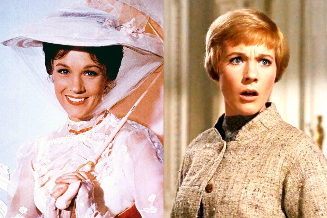 Julie Andrews enlazó un trabajo con otro