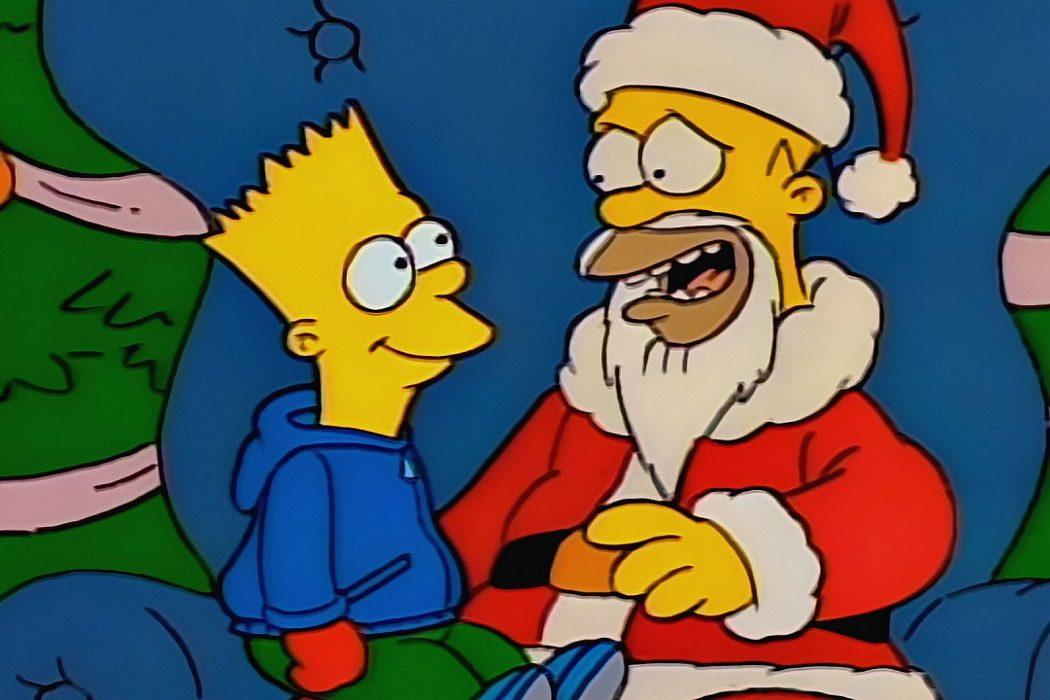 El de Pequeño ayudante de Santa Claus en 'Los Simpson'