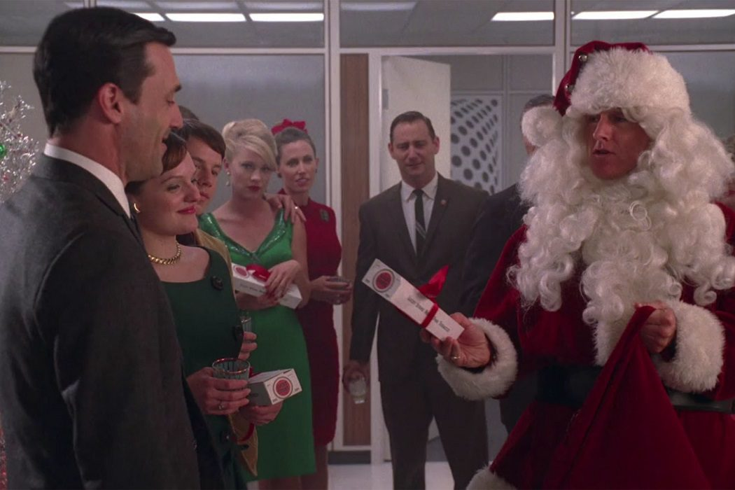 La fiesta de Navidad de 'Mad Men'