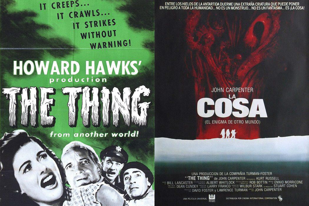 'El enigma de otro mundo' (1951) vs. 'La cosa' (1982)