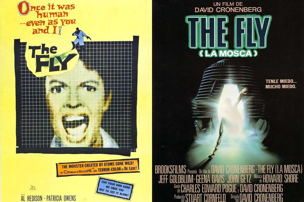 'La mosca': 1958 vs. 1986