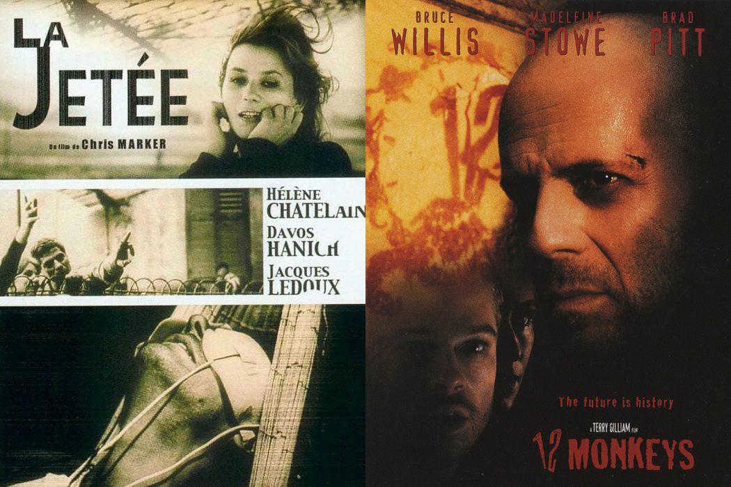 'El muelle' (1962) vs. 'Doce monos' (1995)
