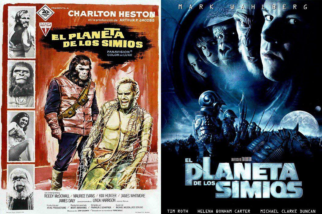 'El planeta de los simios': 1968 vs. 2001