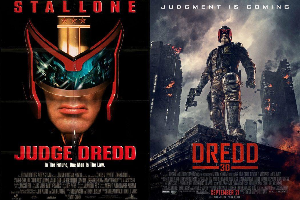 'Juez Dredd' (1995) vs. 'Dredd' (2012)