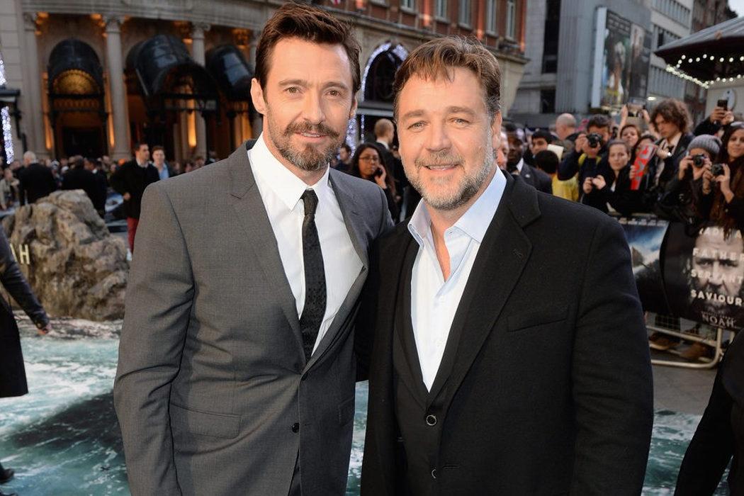 Parte de su carrera se la debe a su amigo Russell Crowe