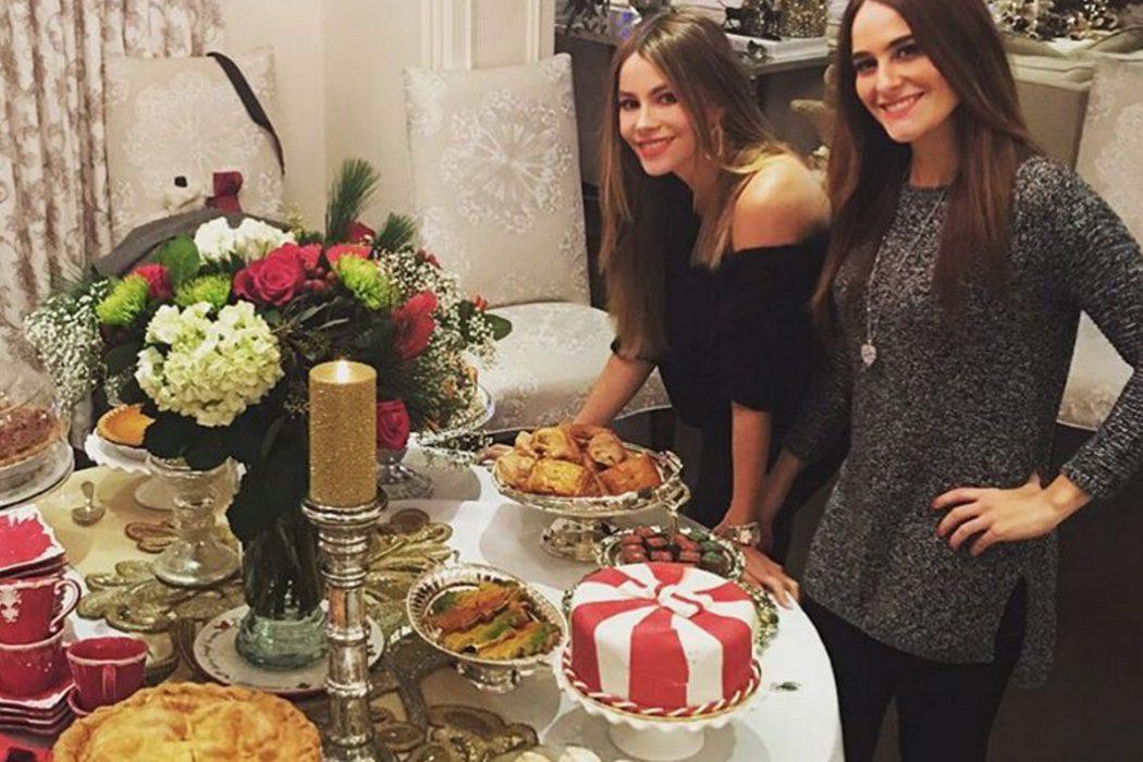 Sofia Vergara y su cena de Nochebuena
