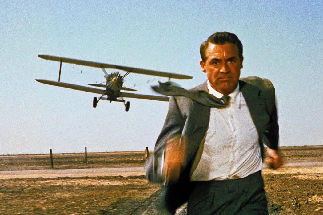 La escena del avión en 'Con la muerte en los talones'