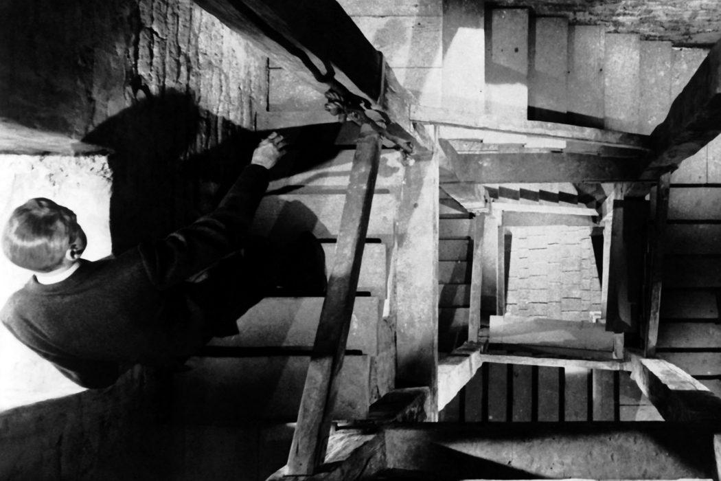 La persecución del campanario en 'Vértigo'
