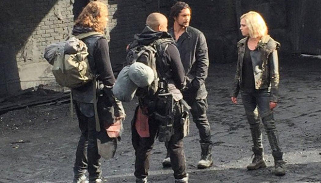 Clarke y Bellamy se reencuentran