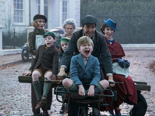 'El regreso de Mary Poppins' (diciembre)