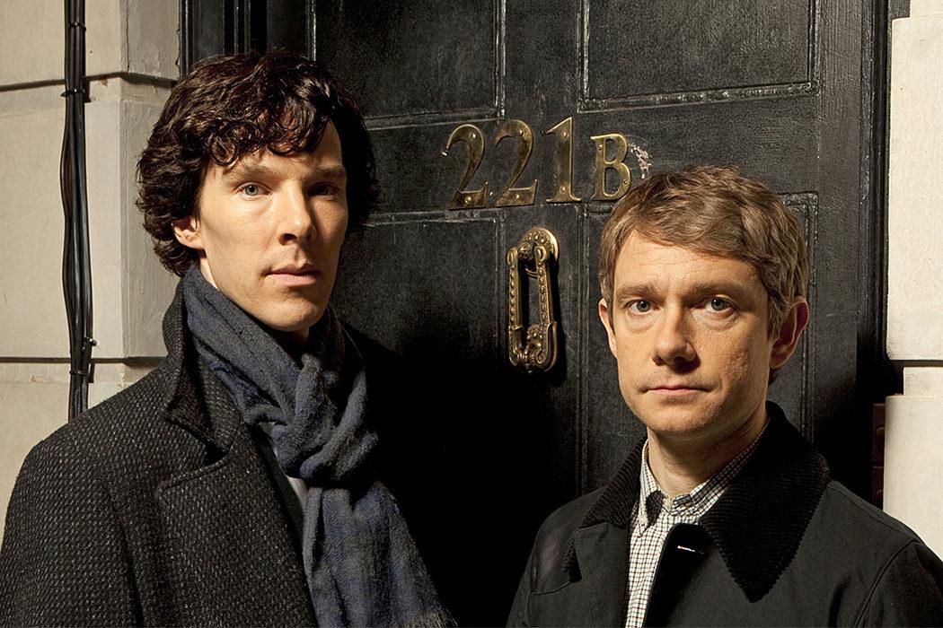Martin Freeman y Benedict Cumberbatch - 'Sherlock'