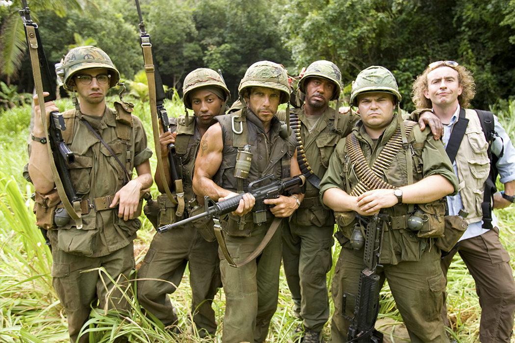 'Tropic Thunder: ¡Una guerra muy perra!'