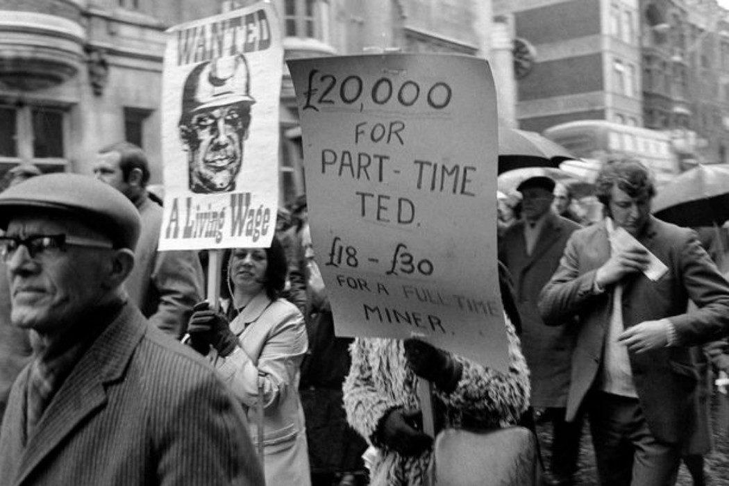 La huelga minera de 1972