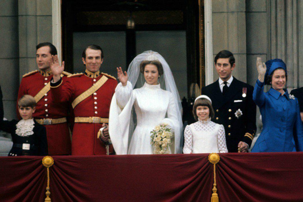 La boda de la Princesa Ana