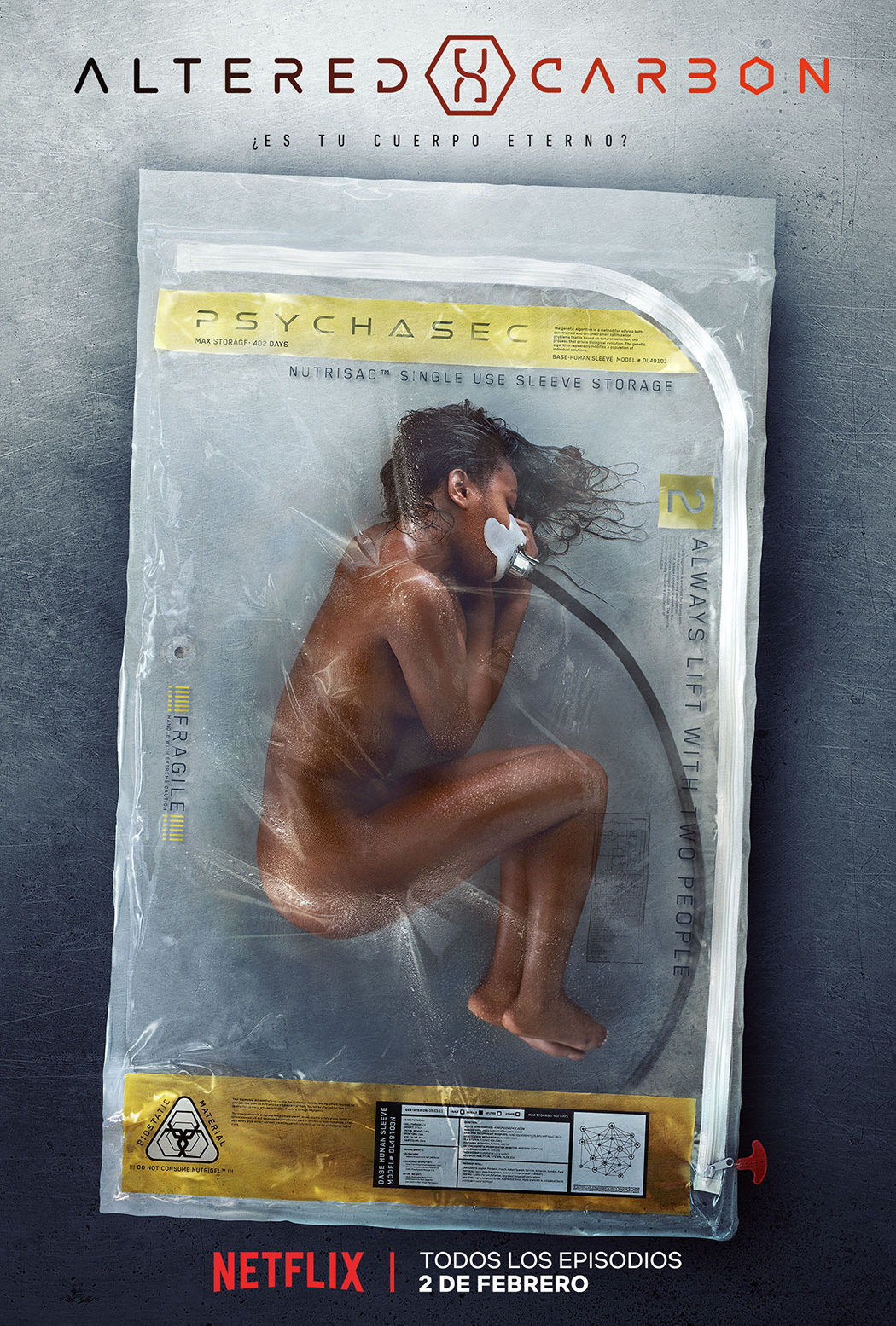 Póster #1 de Altered Carbon