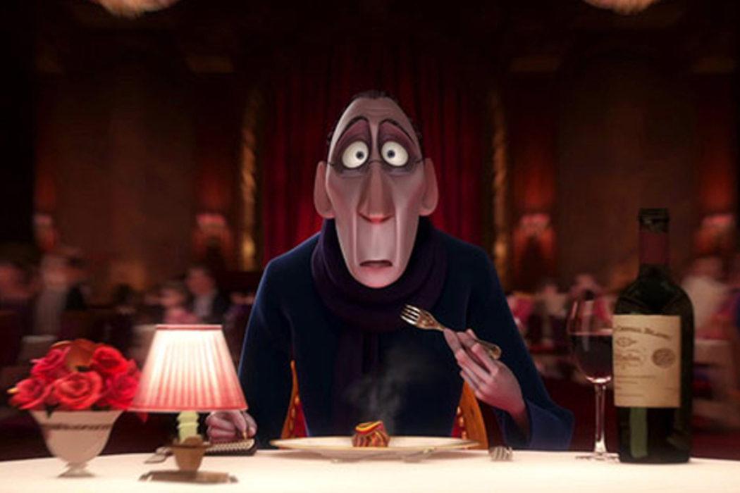 El mordisco del crítico en 'Ratatouille'