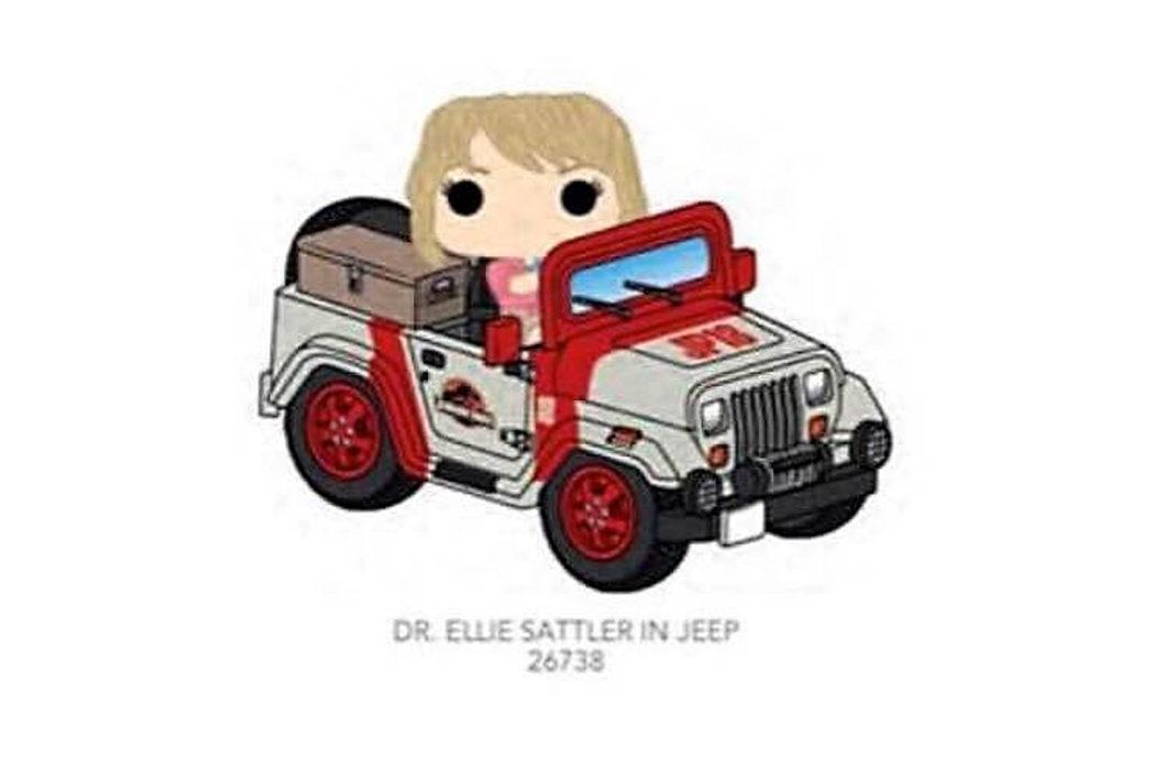 Doctora Ellie Sattler en Jeep