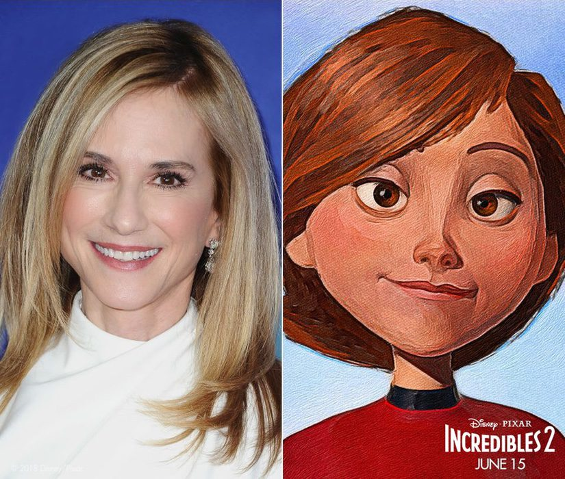 Holly Hunter es Helen Parr / Elastigirl