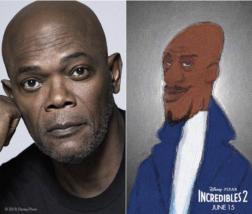 Samuel L. Jackson es Lucio / Frozono