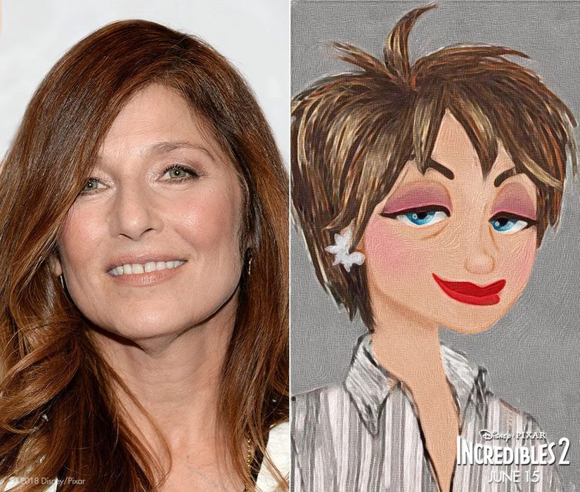 Catherine Keener es Evelyn Deavor