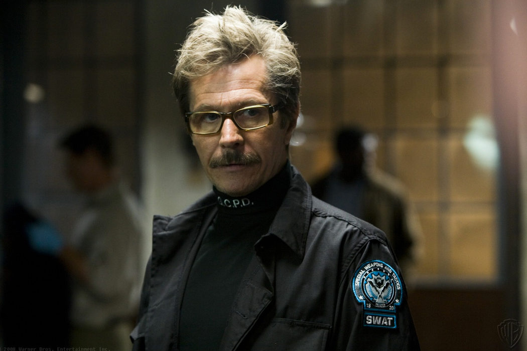 Jim Gordon en la trilogía Batman de Christopher Nolan