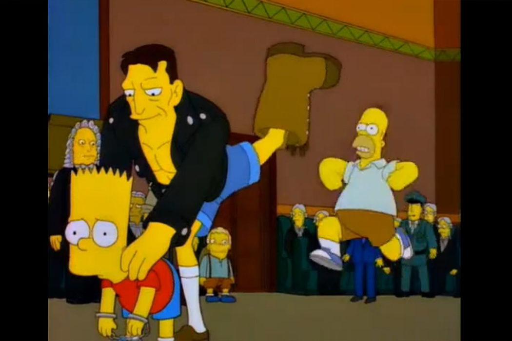 'Los Simpson' - Bart contra Australia