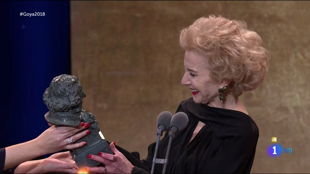 Goya de Honor a Marisa Paredes
