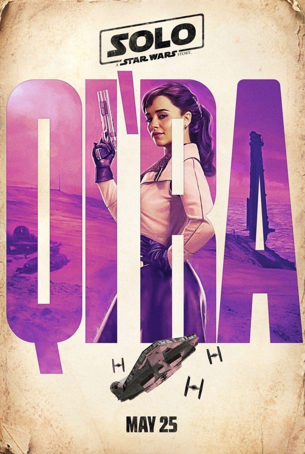 Qi'Ra (Emilia Clarke)
