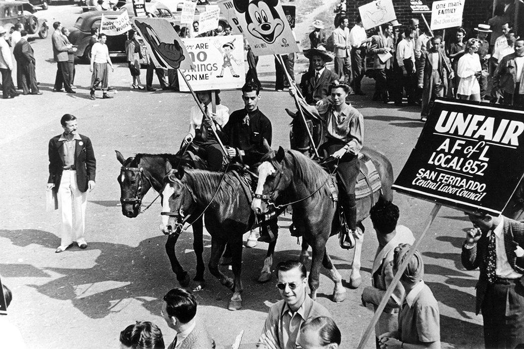 La huelga de animadores de 1941 marcó el rumbo del estudio