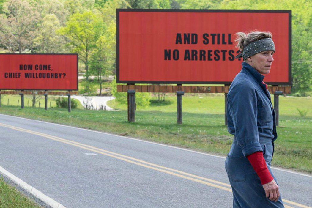 Mejor película: 'Tres anuncios en las afueras'