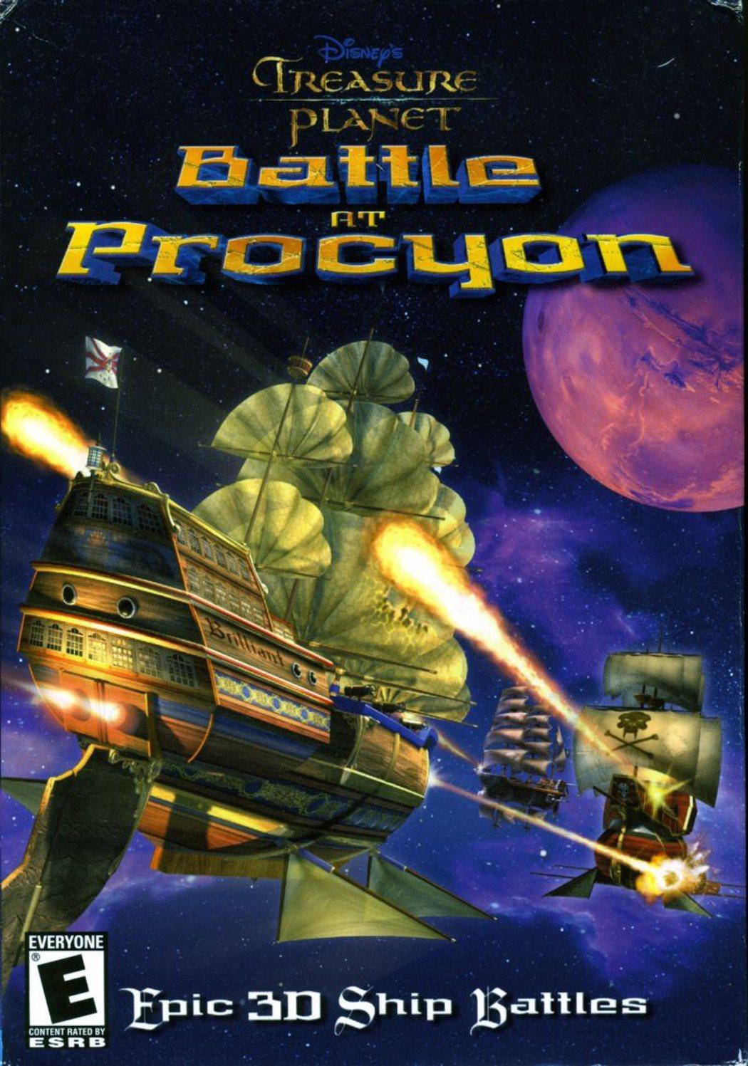 'El planeta del tesoro: Combate en Procyon'