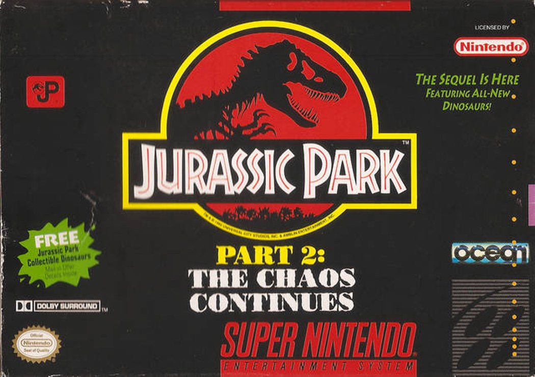'Jurassic Park 2: The Chaos Continues'