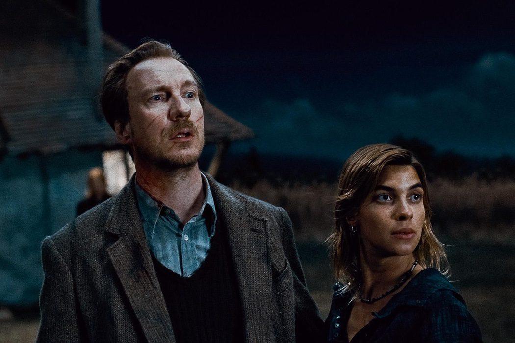 Harry es el padrino de Teddy Lupin por algo