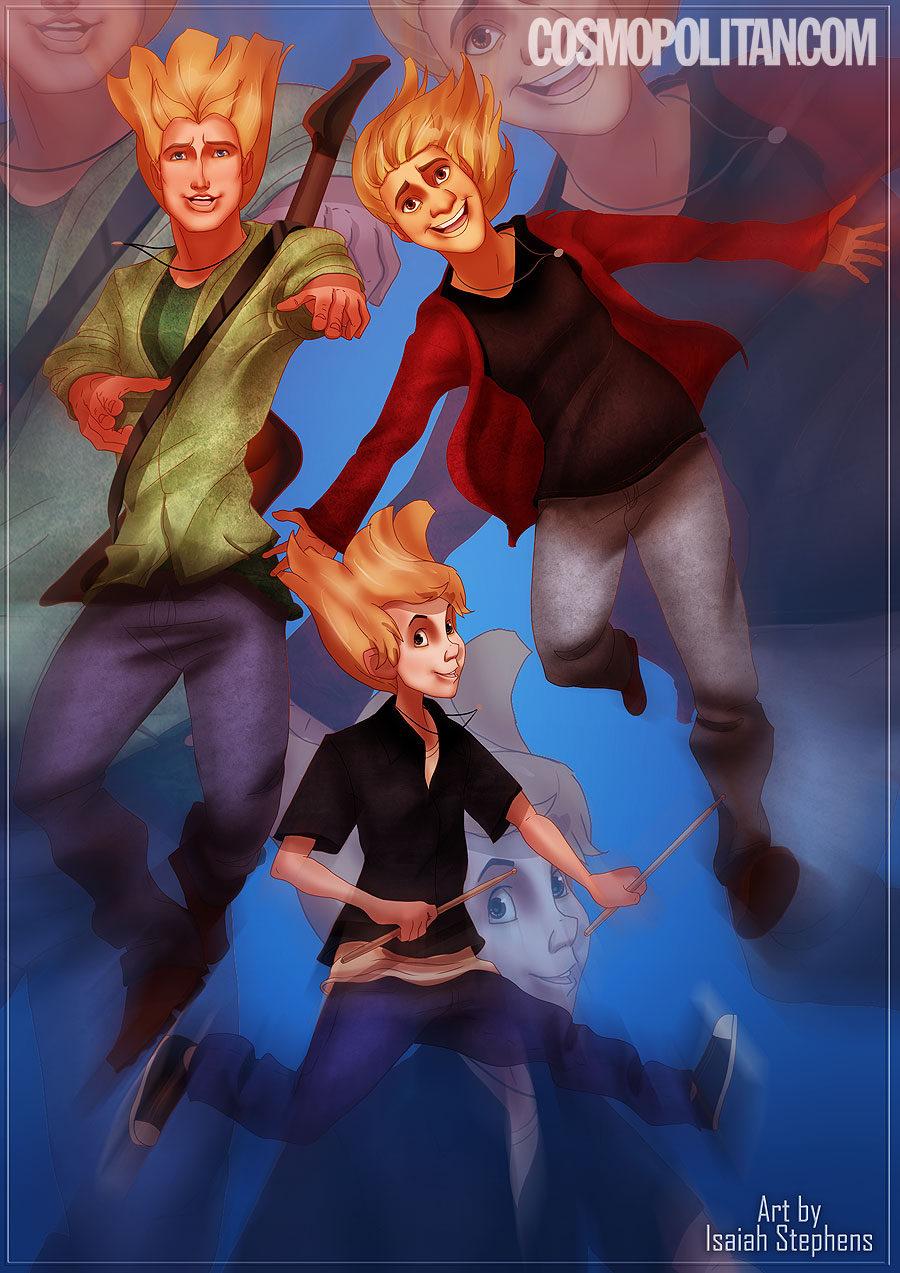 Los chicos Disney como 'Hanson'