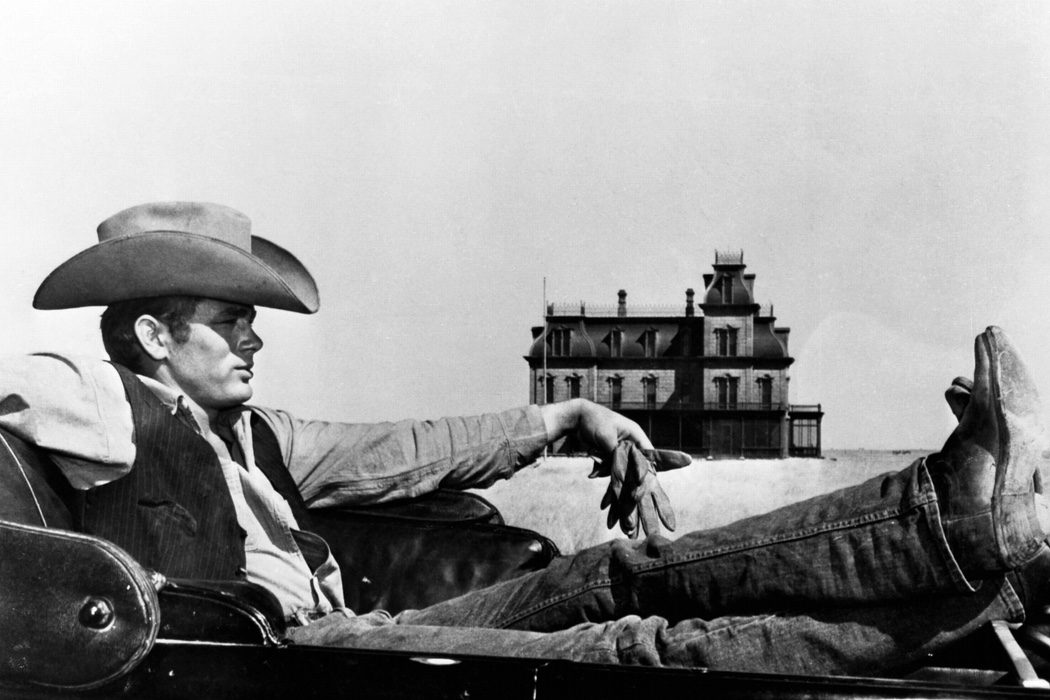 James Dean de cowboy sexy en 'Gigante'
