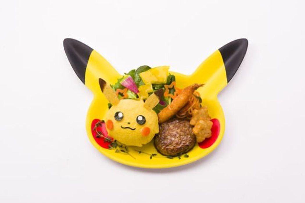Menú Pikachu del Pokémon Café