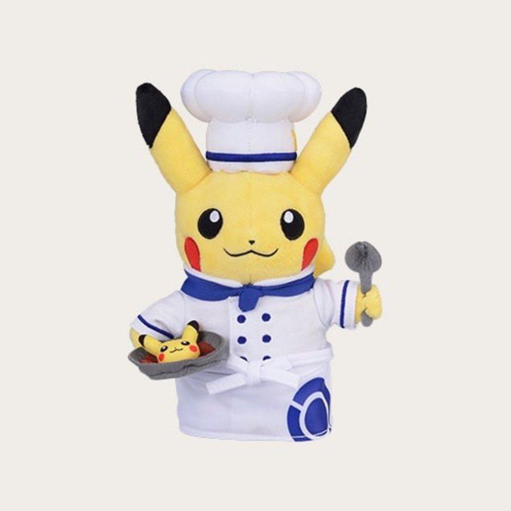 Peluche de Pikachu del Pokémon Café