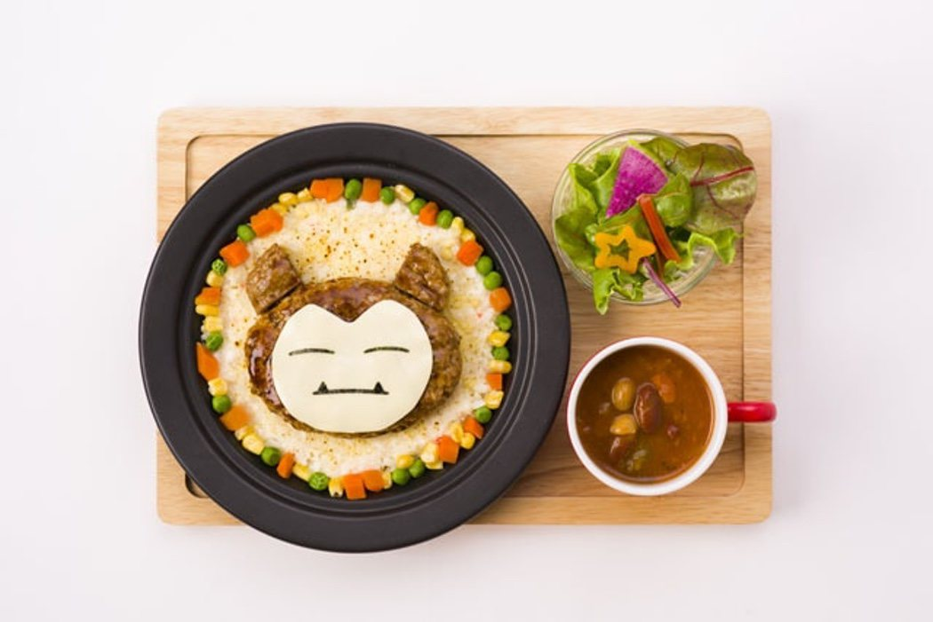 Menú Snorlax del Pokémon Café