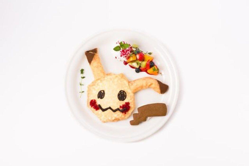 Menú Mimikyu del Pokémon Café