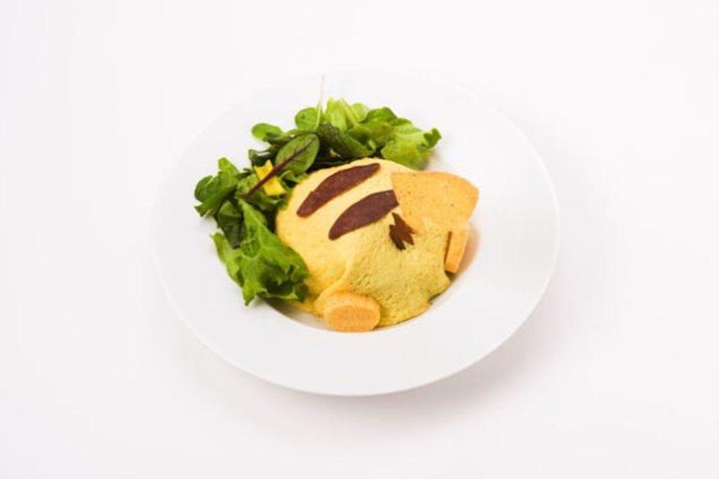 Ensalada Pikachu del Pokémon Café