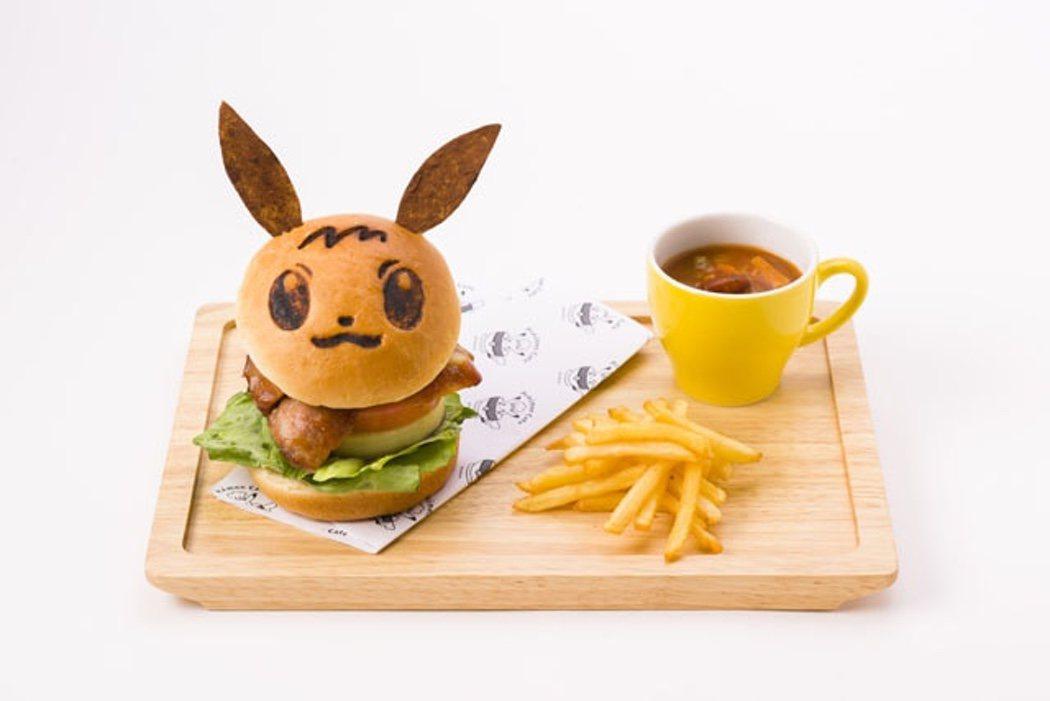 Menú Eevee del Pokémon Café
