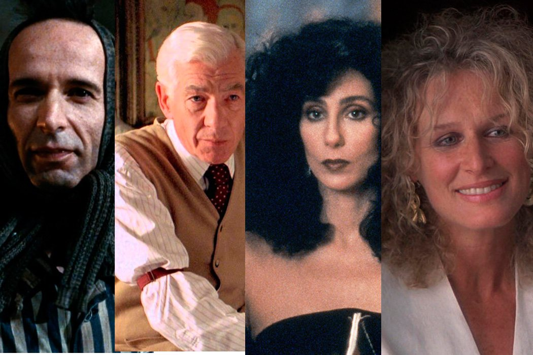 De Cher y Glenn Close a Roberto Begnini e Ian McKellen