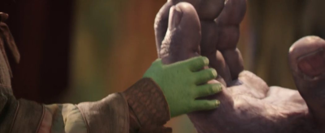 ¿Baby Gamora?